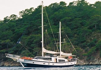 Esma Sultan II yacht charter Mutlutur Yachting Sail Yacht