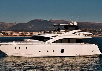 Krys Kar yacht charter Aicon Motor Yacht