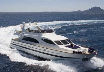 Important Business yacht charter Falcon Motor Yacht