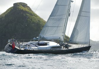 Si Vis Pacem charter yacht exterior designed by Farr Yacht Design