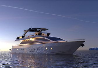 Visionaria yacht charter Amer Motor Yacht
