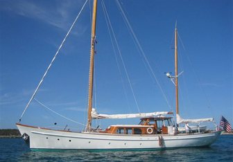 Sea Diamond yacht charter Abeking & Rasmussen Sail Yacht
