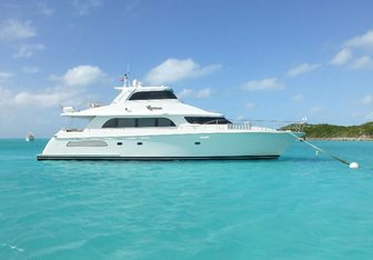Equinox yacht charter Cheoy Lee Motor Yacht