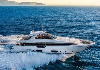 Jag'b yacht charter Ferretti Yachts Motor Yacht