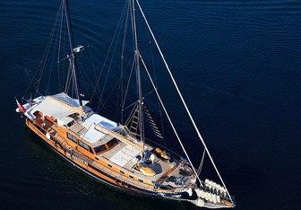 Pacha yacht charter Tuzla Shipyard Sail Yacht