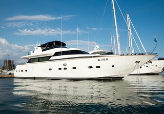 Lady Clotilde Yacht Charter in Mljet