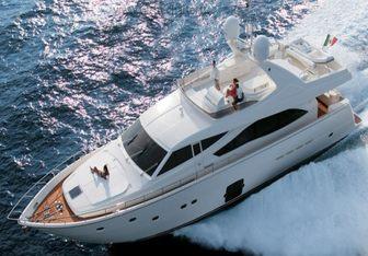 Chi 5 yacht charter Ferretti Yachts Motor Yacht