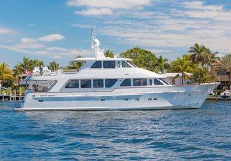 Anndrianna yacht charter Rayburn Custom Yachts Motor Yacht