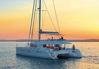 Kaskazi Four yacht charter Lagoon Motor Yacht