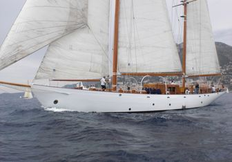 Aries charter yacht exterior designed by Camper & Nicholsons