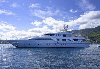 Deep Blue II yacht charter Oceanco Motor Yacht