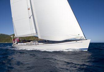 Selene yacht charter Nautor's Swan Sail Yacht