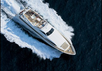 Pandora yacht charter Custom Line Motor Yacht