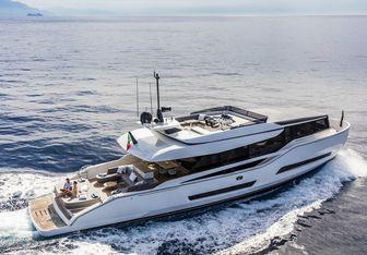 Mini K yacht charter ISA Motor Yacht