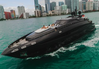 Rock 13 yacht charter Baglietto Motor Yacht