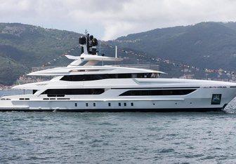 Andiamo yacht charter Baglietto Motor Yacht