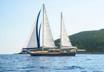 Dea Delmare yacht charter Turkyacht & Gulet Charter Motor/Sailer Yacht
