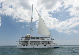 Ocean Diamond yacht charter Custom Sail Yacht