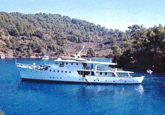 Dear B charter yacht exterior designed by Camper & Nicholsons
