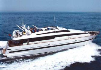 African Queen D yacht charter Sanlorenzo Motor Yacht