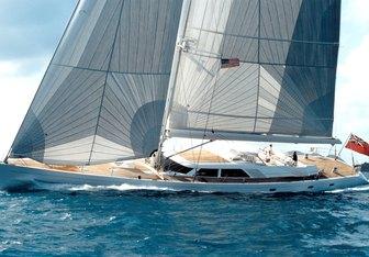 Spiip yacht charter Royal Huisman Sail Yacht