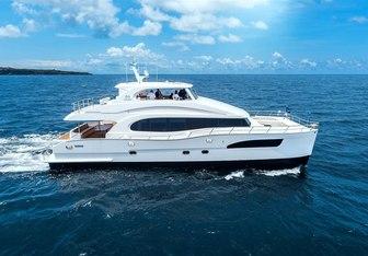 SeaGlass yacht charter Horizon Motor Yacht