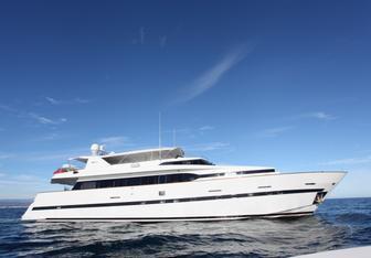 Moondance yacht charter Azimut Motor Yacht