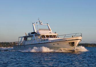 Stella Nova yacht charter Schiffswert Hammeln Motor Yacht