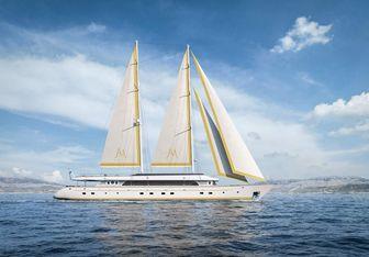 Anima Maris yacht charter Custom Sail Yacht