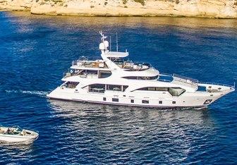 Kelly Ann yacht charter Benetti Motor Yacht