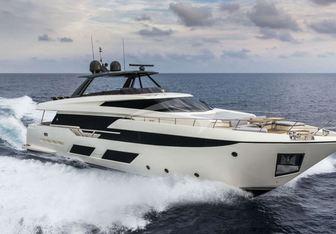 Eagle One yacht charter Ferretti Yachts Motor Yacht
