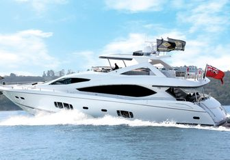 Veuve Yacht Charter in St Tropez