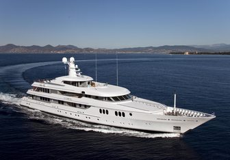 Trident yacht charter Feadship Motor Yacht