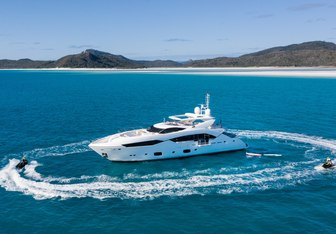 Three Rivers yacht charter Sunseeker Motor Yacht