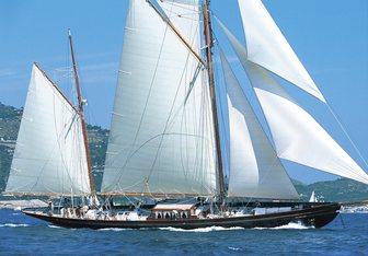 Black Swan yacht charter Camper & Nicholsons Sail Yacht