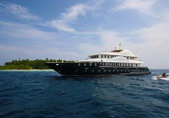Dhaainkan'baa yacht charter Fairline Maldives Motor Yacht