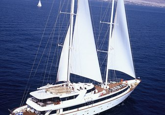 Pan Orama II Yacht Charter in Aegean Islands