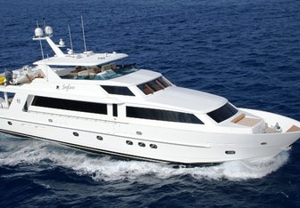 All That Jazz charter yacht exterior designed by Ben Dodarell