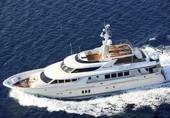 Milaya yacht charter Timmerman Yachts Motor Yacht