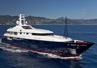 Baraka yacht charter Turquoise Motor Yacht