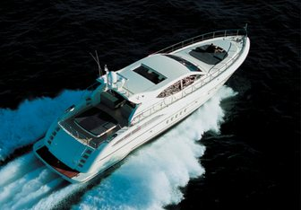 Cheetah charter yacht interior designed by Arno