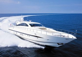 Caramia yacht charter Leopard Motor Yacht