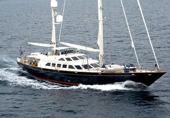 Ellen yacht charter Perini Navi Sail Yacht