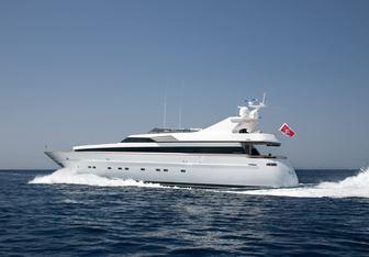 Regina K charter yacht exterior designed by Cantieri di Pisa