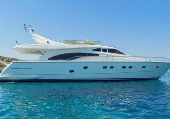 Meli yacht charter Ferretti Yachts Motor Yacht
