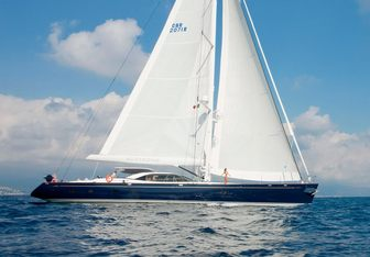 Nostromo yacht charter Pendennis Sail Yacht