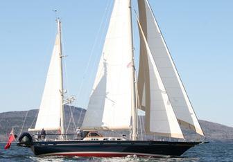 Kemmuna yacht charter Jongert Sail Yacht