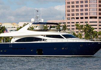 Dee Dee Lee yacht charter Ferretti Yachts Motor Yacht