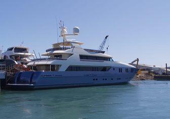Irama charter yacht interior designed by Concept Marine