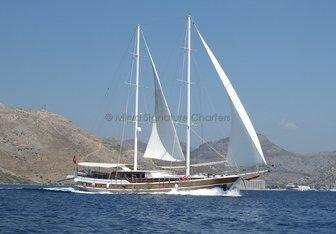 S. NUR TAYLAN yacht charter Bozburun Shipyard Motor Yacht